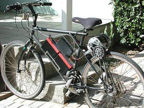 Mountain Bike, dengan Motor Listrik
